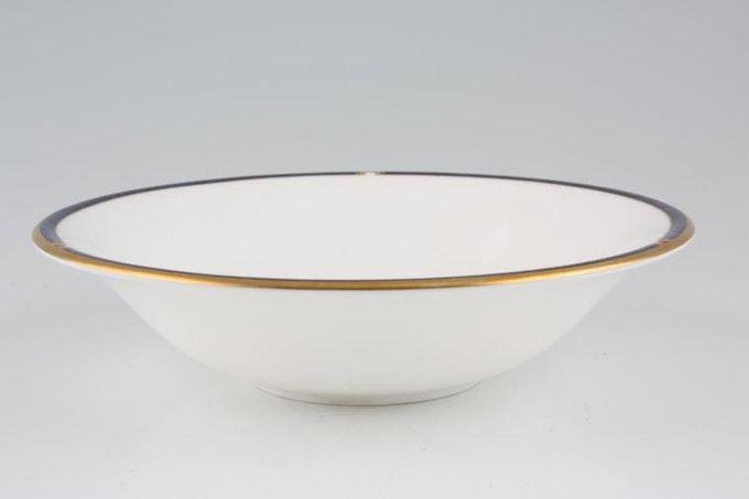 "Royal Worcester Carina - Blue Soup / Cereal Bowl 6 3/4"""