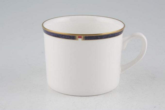 Royal Worcester Carina - Blue Teacup Straight sided 3 1/4 x 2 1/2""