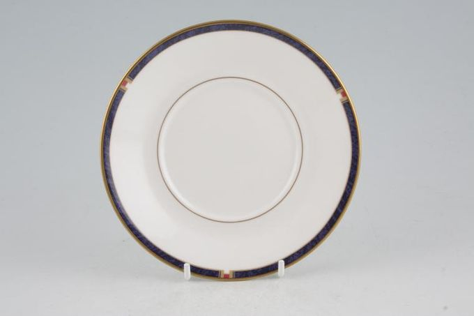 "Royal Worcester Carina - Blue Tea Saucer For straight sided tea cup 5 3/4"""