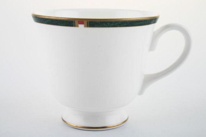 """Royal Worcester Carina - Green Teacup 3 1/2 x 3"""""""