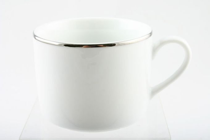 """Royal Worcester Classic Platinum Teacup Straight Sided 3 1/4 x 2 1/2"""""""