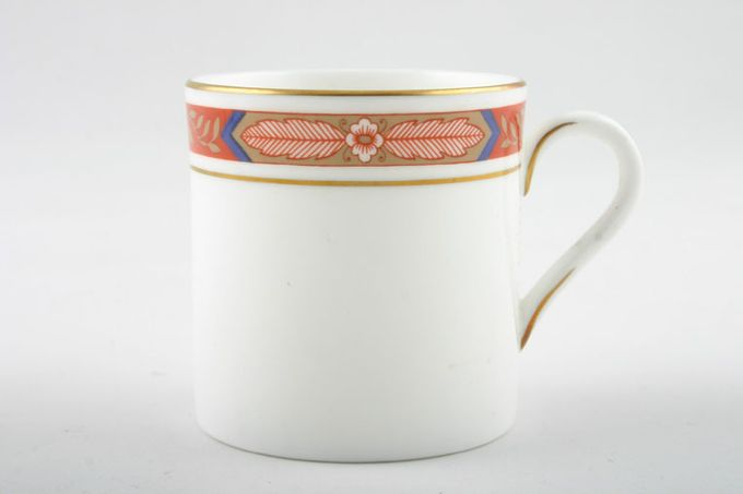 """Royal Worcester Beaufort - Rust Coffee/Espresso Can 2 3/8 x 2 1/2"""""""