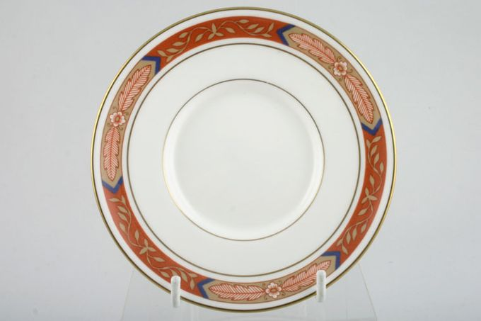 Royal Worcester Beaufort - Rust Coffee Saucer 4 7/8""