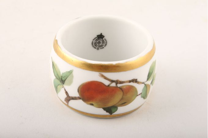 "Royal Worcester Evesham - Gold Edge Napkin Ring 2 x 1 1/4"""