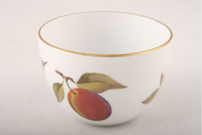 Royal Worcester Evesham - Gold Edge Sugar Bowl - Open (Coffee) 3 1/4""