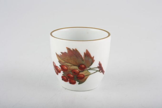 Royal Worcester Evesham - Gold Edge Egg Cup Not Footed