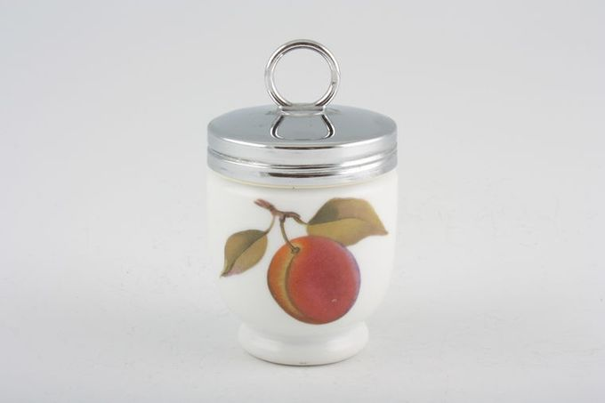 "Royal Worcester Evesham - Gold Edge Egg Coddler Small, Plastic fitting 2 x 2 1/2"""