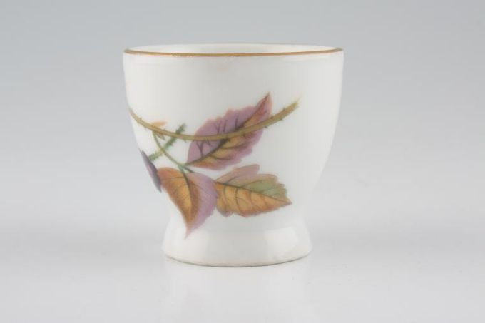 Royal Worcester Evesham - Gold Edge Egg Cup Footed