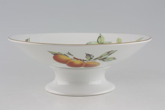 Royal Worcester Evesham - Gold Edge Comport 9 1/2 x 3 1/2""