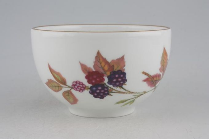 Royal Worcester Evesham - Gold Edge Sugar Bowl - Open (Tea) 4 x 2 1/2""