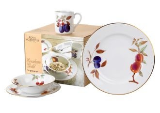 16 Piece Set  sc 1 st  Chinasearch & Royal Worcester Evesham - Gold Edge | Chinasearch