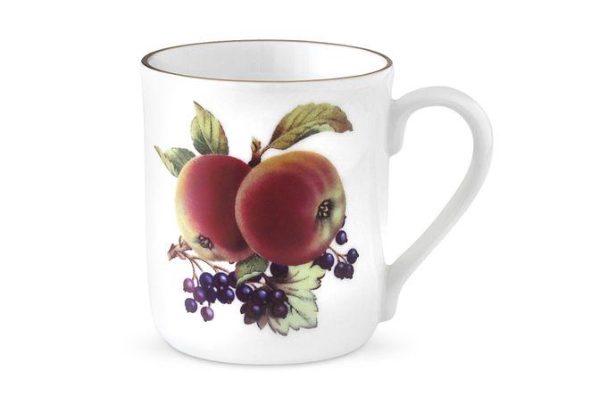Royal Worcester Evesham - Gold Edge Mug Apple & Blackcurrant. Single