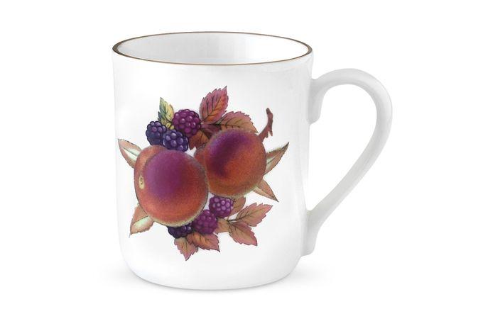 Royal Worcester Evesham - Gold Edge Mug Peach & Blackberry. Single