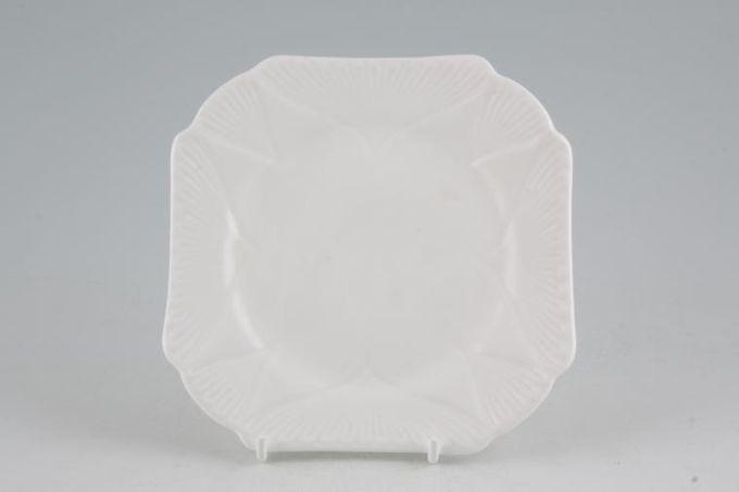"Shelley Dainty White Tea / Side Plate Square 5 1/2"""