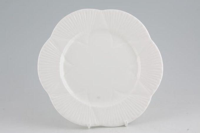"Shelley Dainty White Dessert / Salad Plate 8"""