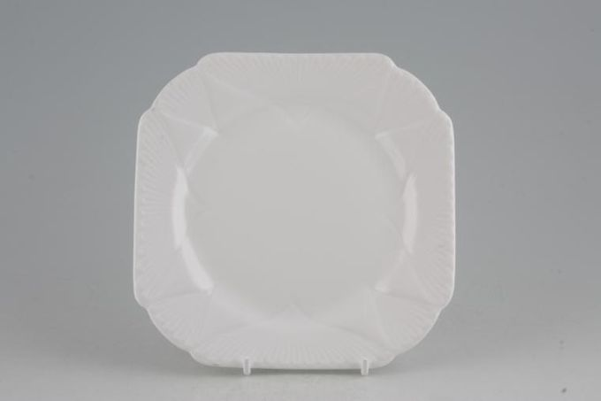 """Shelley Dainty White Tea / Side / Bread & Butter Plate Square 6 3/8"""""""