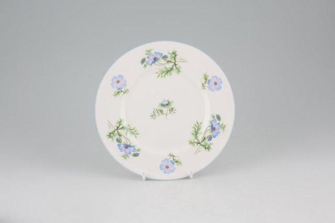 """Shelley Blue Poppy Tea / Side / Bread & Butter Plate 6 1/2"""""""