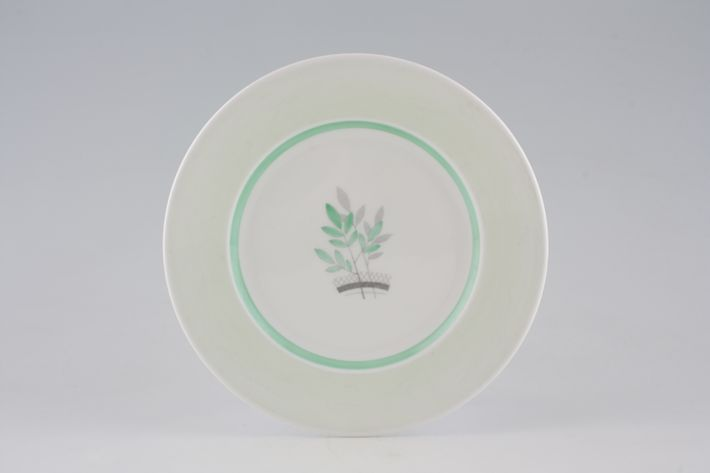 Shelley Pale Green + Stylised Leaves - C12387