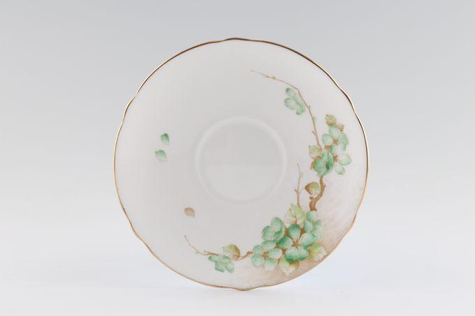 "Shelley Apple Blossom Tea Saucer 5 3/4"""