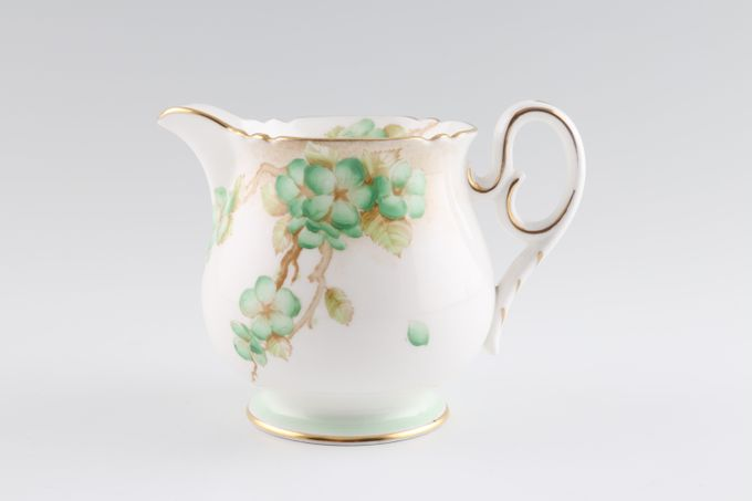 Shelley Apple Blossom Milk Jug 1/2pt