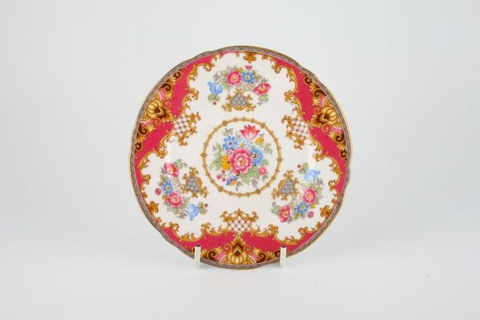 "Shelley Sheraton - Gold Edge - 13289 Tea / Side / Bread & Butter Plate 6"""
