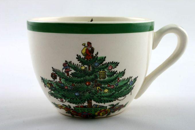 "Spode Christmas Tree Coffee Cup 3 3/8 x 2 1/2"""