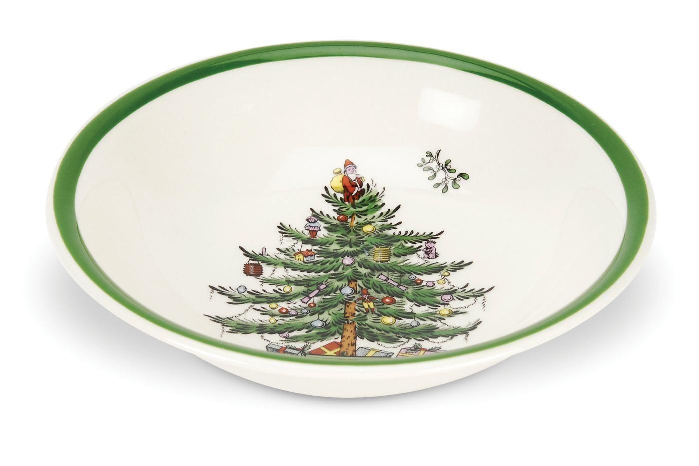 """Spode Christmas Tree Soup / Cereal Bowl 8"""" thumb 1"""