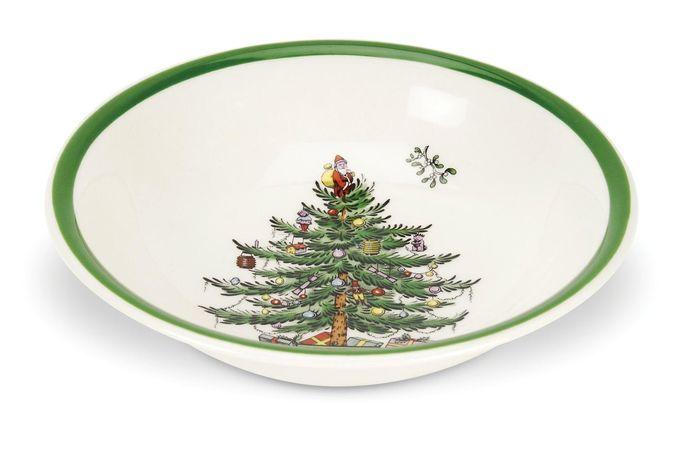 "Spode Christmas Tree Soup / Cereal Bowl 8"""
