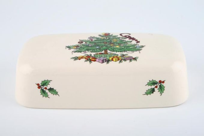 Spode Christmas Tree Butter Dish Lid Only