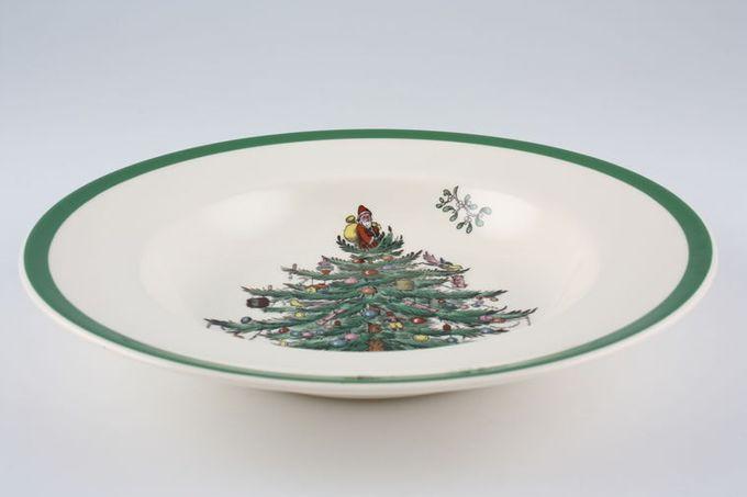"""Spode Christmas Tree Rimmed Bowl 7 3/4"""""""