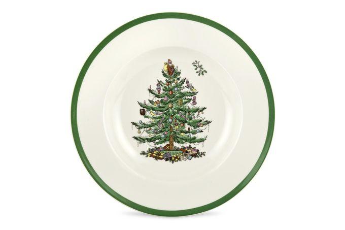 """Spode Christmas Tree Rimmed Bowl 9"""""""