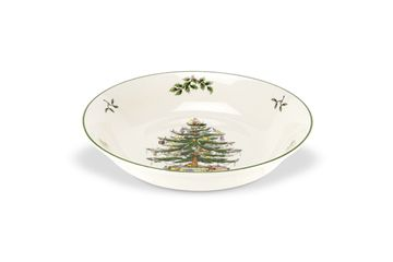 Spode Christmas Tree Serving Bowl low