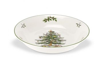 Spode Christmas Tree Serving Bowl Main Course/Pasta Dish