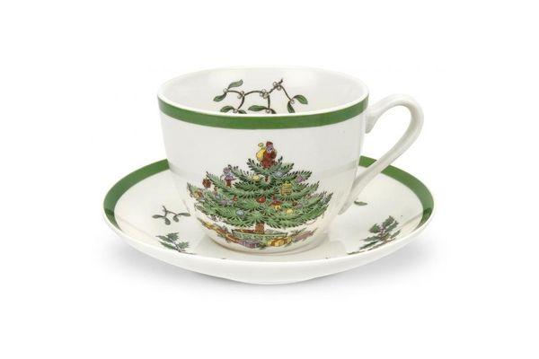 Spode Christmas Tree Teacup & Saucer