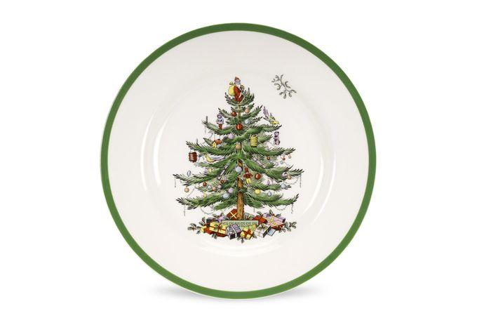 """Spode Christmas Tree Dinner Plate 10 5/8"""""""