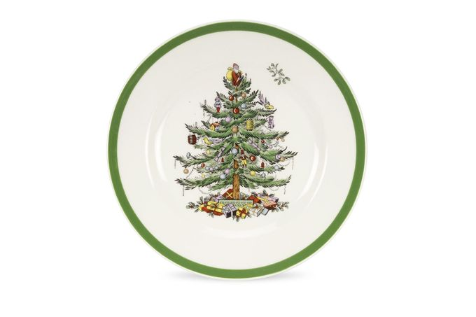 "Spode Christmas Tree Starter / Salad / Dessert Plate 7 3/4"""