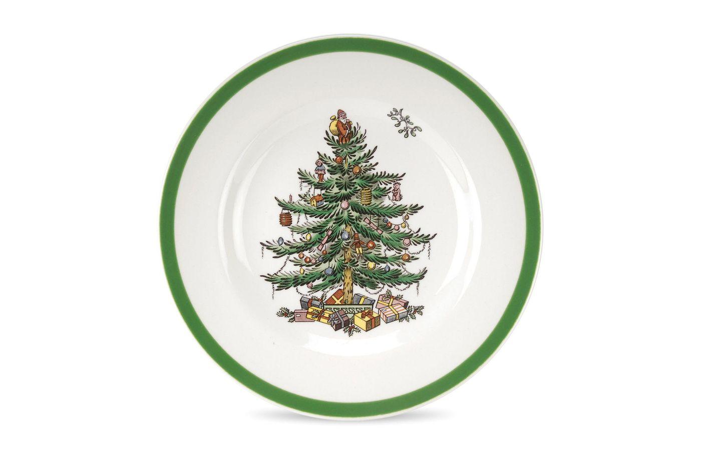 "Spode Christmas Tree Tea / Side / Bread & Butter Plate 6 1/2"" thumb 1"