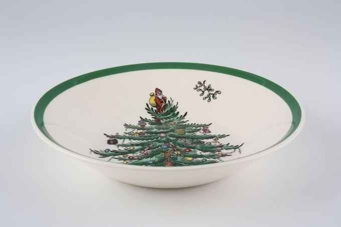 "Spode Christmas Tree Fruit Saucer 5 1/4"""