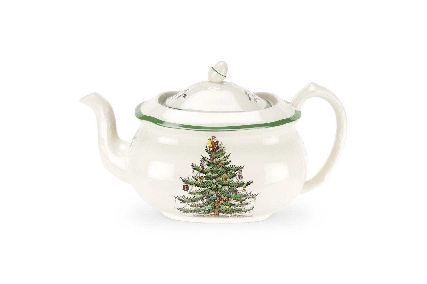 Spode Christmas Tree Teapot 2 1/2pt thumb 1