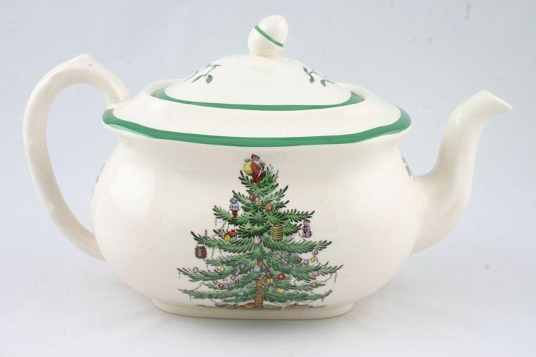 Spode Christmas Tree Teapot XT1400-X 2 1/2pt