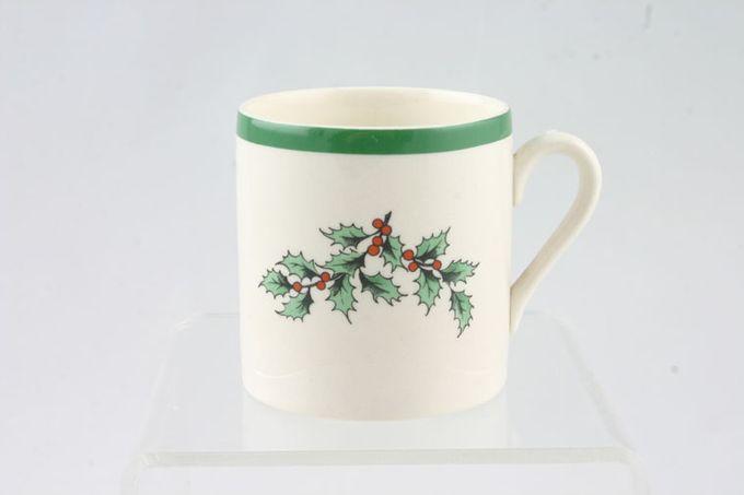 "Spode Christmas Tree Coffee/Espresso Can 2 1/4 x 2 3/8"""