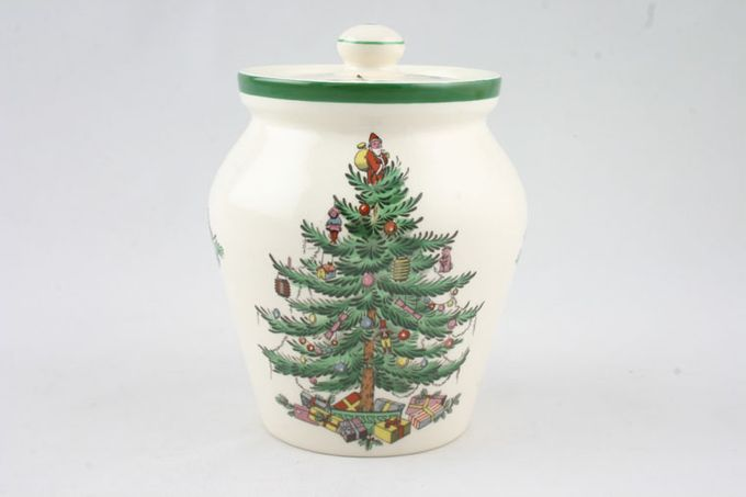Spode Christmas Tree Ginger Jar 3""