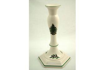 "Spode Christmas Tree Candlestick 9 1/4"""