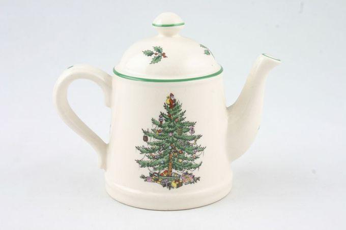 Spode Christmas Tree Salt Pot teapot shaped