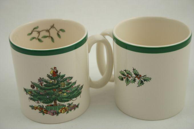 """Spode Christmas Tree Mug 3 1/4 x 2 7/8"""""""