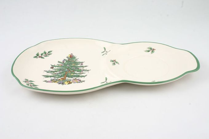 Spode Christmas Tree Serving Tray T.V tray only