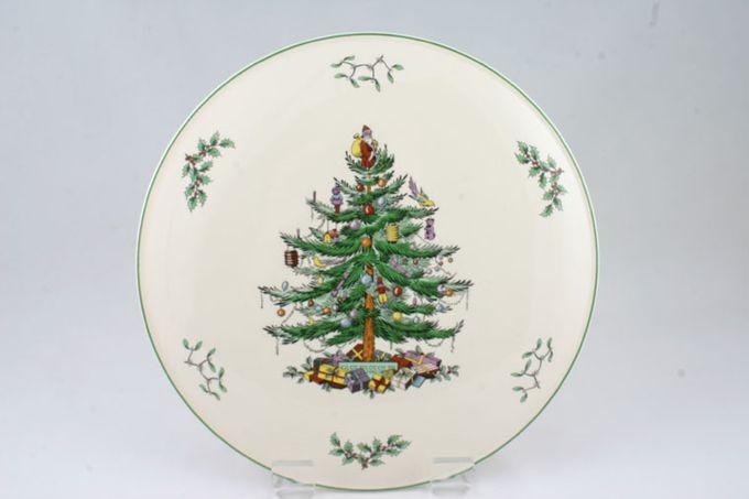 """Spode Christmas Tree Gateau Plate 11 1/4"""""""