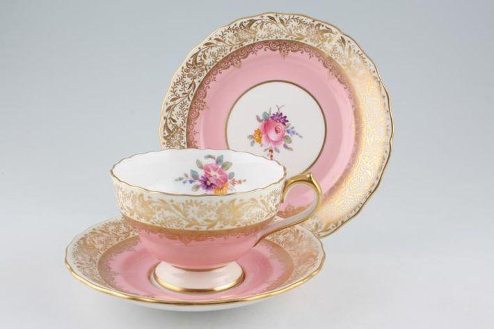 Spode Ruskin - Pink - Y4196