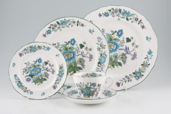 Spode Mulberry - Green Edge