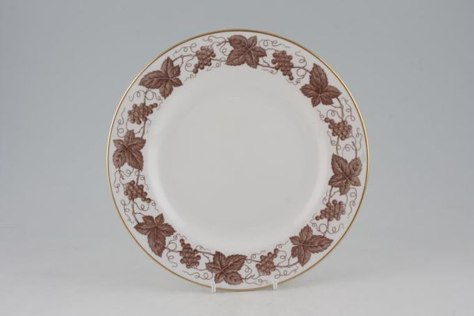 Spode New Stone - Brown Y6632 Breakfast / Salad / Luncheon Plate 9""